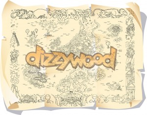 Dizzywood Original Map
